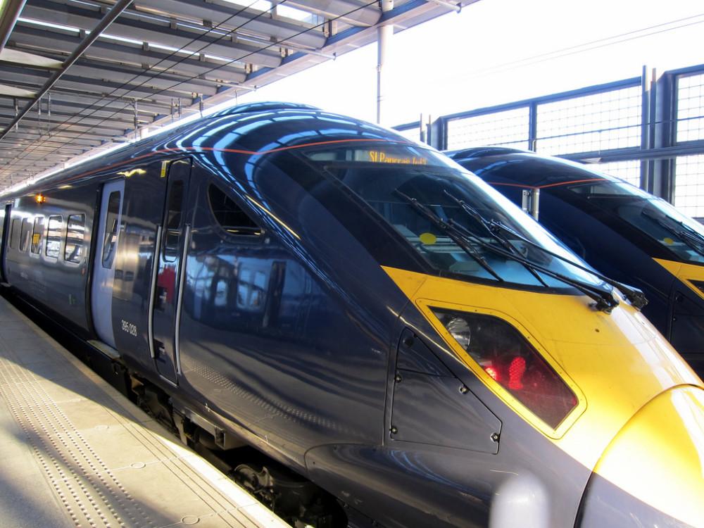Southeastern High Speed Trains, St Pancras International