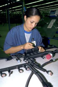 Im mexikanischen Hermosillo fertigt Leoni Bordnetz-Systeme für die Automobil- und Nutzfahrzeugindustrie (Foto: Leoni AG)