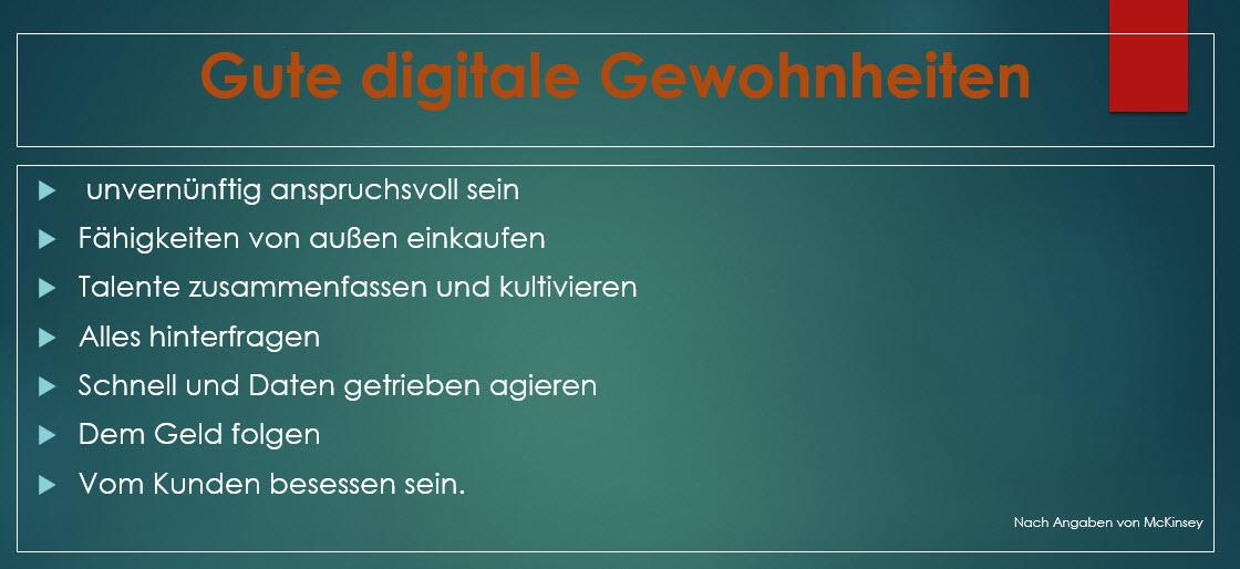 gute digitale Gewohnheiten