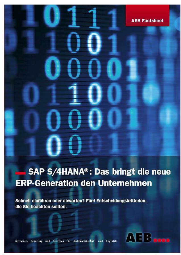 SAP S4 Hana Titel