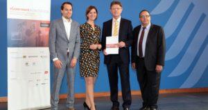 Veröffentlichung der Studie eGovernment MONITOR 2016 am 23.09.2016 in Anwesenheit des Sts. Klaus Vitt im BMI in Berlin.